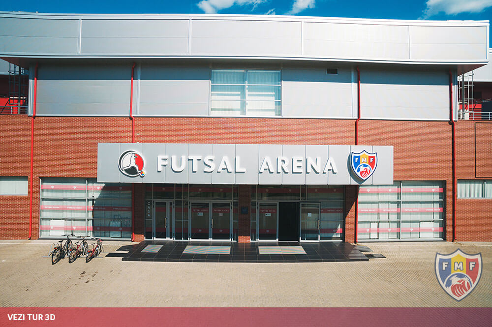 Vezi TUR 3D | Futsal Arena Ciorescu