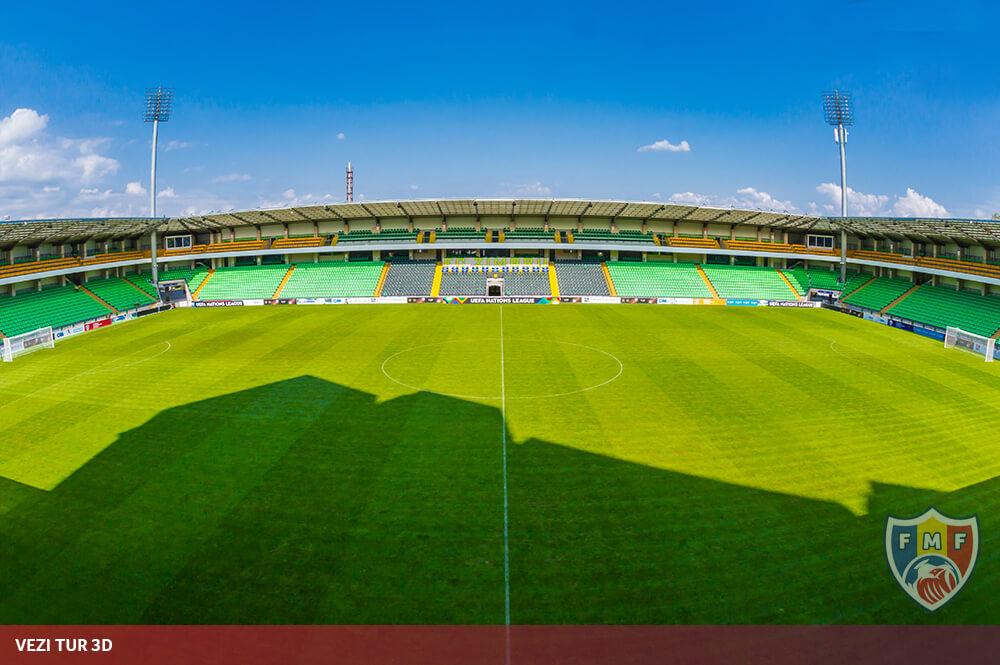 Vezi TUR 3D | Stadionul Zimbru
